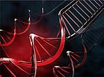 self-twisting of DNA-inspired constructs